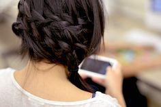 Hair How-To: Waterfall braid