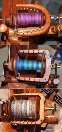 A day's spinning