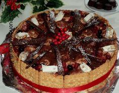 La buona cucina di Katty: Torta tiramisù al torroncino - Tiramisu cake nougat