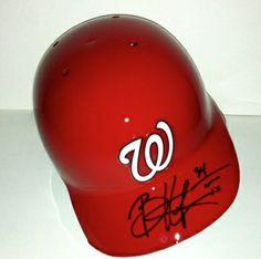 Bryce Harper Autographed Washington Nationals Batting Helmet