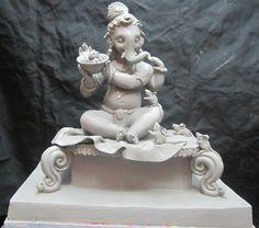 Durga Images, Ganesh Images, Ganesha Pictures, Ganesh Lord, Shri Ganesh, Krishna, Clay Ganesha, Ganesha Art, Ganesh Photo