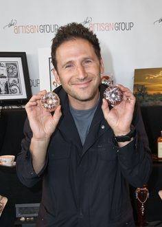 "Mark Feuerstein of ""Royal Pains"" with Barefoot Bath and Body."