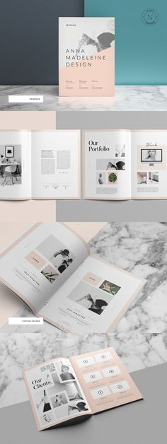 The Primrose Portfolio template is a 18 page Indesign brochure template available in both and US letter sizes. This beautiful and simple brochure is ideal Portfolio Design Layouts, Indesign Portfolio, Layout Design, Logo Design, Template Portfolio, Portfolio Booklet, Booklet Design Layout, Pamphlet Design, Graphic Portfolio