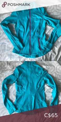 Shop Women's lululemon athletica Blue size XS Jackets & Coats at a discounted price at Poshmark. Lululemon Athletica, Jackets For Women, Best Deals, Blue, Coats, Things To Sell, Style, Fashion, Cardigan Sweaters For Women