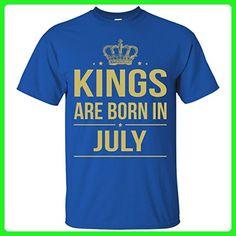 Kings Are Born In July - Birthday Shirt, Hoodie, Tank - Birthday shirts (*Amazon Partner-Link)
