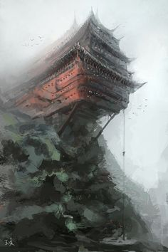Ascent  by Wang Ling