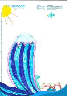 Así ve la mascota de Aquaservice Nazaret, 5 años.  Ganador del concurso Expojove'13 (categoría: de 3 a 5 años)