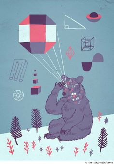 Mikko Walamies Draws Mystical T-Shirt Designs And The World's Greatest bear magician