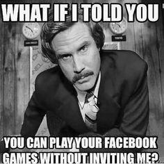 Facebook Games & Invites