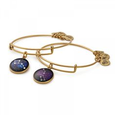 Big and Little Dipper Set of Two Charm Bangles   Big Brother Big Sisters of America from the ALEX AND ANI CHARITY BY DESIGN Collection.