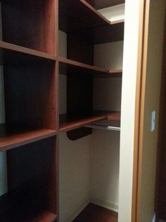 How to deal with a deep corner in a reach in closet