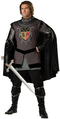 InCharacter Costumes Mens Dark Knight Adult Costume GrayBlack Large ** Details can be found by clicking on the image.