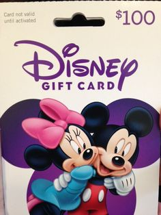 5 Must Have Items for Your Family Vacation to Walt Disney World Disney Gift Card, Disney Cards, Walt Disney World Orlando, Disney College, My Christmas List, Free Gift Cards, Disney Vacations, Mickey Mouse, The Incredibles
