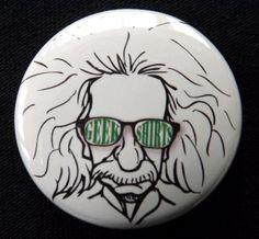 Geek Einstein Badge