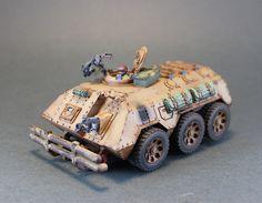 Planetary Defense Force Wheeled Chimera 2   by paulwpratt