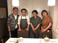 Owner Chef Takahashi of La Sante in Sapporo with Ms. Konishi, a food writer, and Ms. Takada, a food photographer.  If you visit Sapporo, La Sante is the restaurant to taste great fish, meat and veges of Hokkaido with magic hands of Takahashi-san.