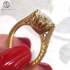 eed83ac6ca088 41 Best Antique Cut Engagement Rings images in 2019 | Engagement ...