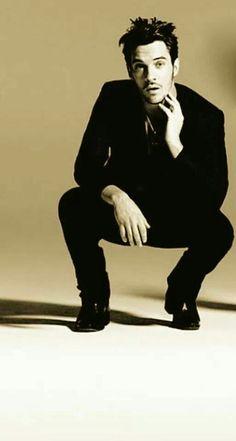 Jonathan Rhys Meyers inspiration for Cayden Convel