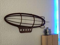 Luftschiff Zeppelin Steampunk Dekoration Deko Industrie Design Loft    eBay