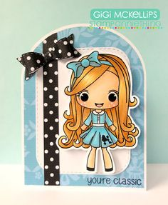 The Cricut Bug: Stamp AnnieThing August Release Day 2- Jessica-You're Classic