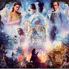 """B for """"Beauty and the Beast"""" - Poster Disney Love, Disney Magic, Disney Art, Disney Stuff, Beauty And The Beast Movie, Beauty And The Best, Beauty Beast, Emma Thompson, Disney And Dreamworks"""