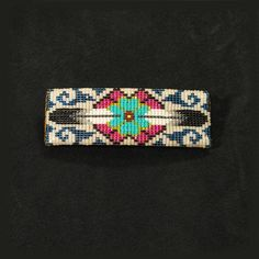 Native American hair barrette