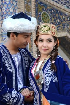 Traditional dress - Bukhara, Uzbekistan