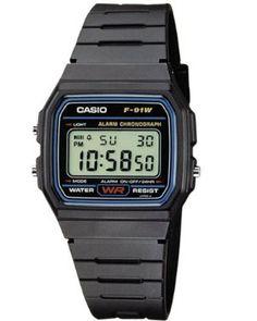 Casio -F-91W-1YER - Montre Homme- Quartz digitale - Chronographe - Bracelet Plastique noir Meilleures offres - montre casio vintage   casio vintage femme