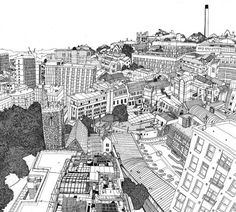 big cities ilustrattion - Pesquisa Google