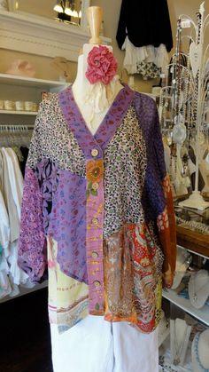 Rayon Kimono Top by Sacred Threads.  fb.com/mimibellafinelinenwear