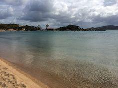 Strand van Camping Isuledda #sardinie