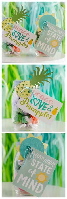 The best DIY projects & DIY ideas and tutorials: sewing, paper craft, DIY. Best Diy Crafts Ideas For Your Home Sweet Summer Gift Ideas. Homemade Gifts, Diy Gifts, Best Gifts, Daycare Teacher Gifts, Student Gifts, Pineapple Gifts, Diy And Crafts, Paper Crafts, Summer Gifts