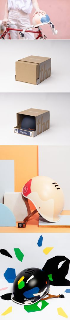 Thousand and Poketo Team Up For Helmet Collaboration | Dieline