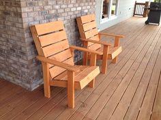 Adirondack Chairs from KregJig.ning.com