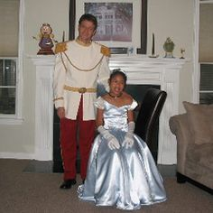 Cinderella and Prince Charming Costume