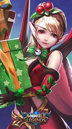 """Mobile legends - Karina """"Christmas Cheer"""""""