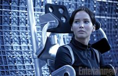 Jennifer Lawrence as Katniss in The Hunger Games: Catching Fire