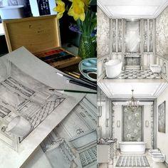 01-Bathroom-Layouts-Julia-Smolkina-Interior-Design-with-Mixed-Media-Drawings-www-designstack-co.jpg 612×612 pixels