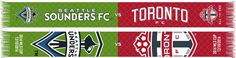 2016 MLS CUP SCARF - SEATTLE SOUNDERS vs TORONTO FC