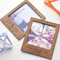 Personalised Polaroid Magnetic Picture Frame - gifts for him
