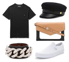 """""""Untitled #13"""" by flacobell ❤ liked on Polyvore featuring Givenchy, Vans, Todd Snyder and Henri Bendel"""