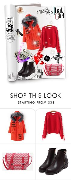 """""""6) SHEIN"""" by red-rose-girl ❤ liked on Polyvore featuring Chanel, Garance Doré and modern"""