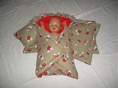Clara / Myškový set  periniek pre bábiku na rozmer 50x28 cm