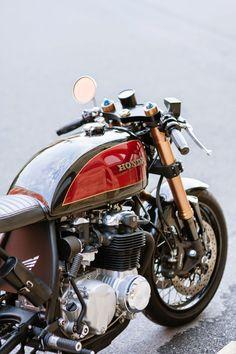 "yep, I had one,really. but not this nice Honda CB 550 Cafe Racer """