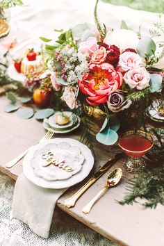 rustic outdoor picnic inspiration