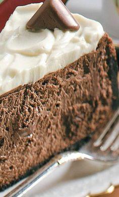 ~ Mocha Truffle Cheesecake