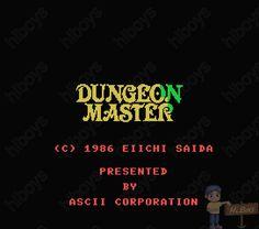 옛날게임 - HLBOYS의 고전게임 :: [MSX] 던전 마스터 - Dungeon Master, ダンジョンマスター