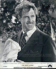 "1974 Press Photo Actor Bruce Dern in ""The Great Gatsby"" Film"