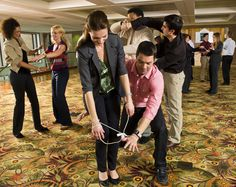 Start your meeting with an ice breaker. These simple and creative activities promote interaction between attendees. Two ice breakers can be completed within 20 minutes and may be set up indoors or outdoors.