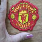 Manchester united logo woven sew on patch 80x80mm for England jersey hat cap bag #FootballJersey